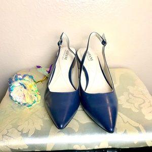 Alfani Pumps Shoes Women's Size 7 Blue Color